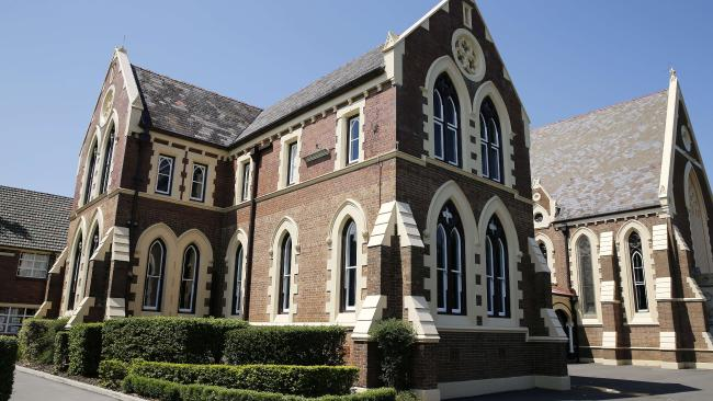 Brisbane Grammar School was the second best performing school in terms of OP scores. Picture: AAP/Josh Woning