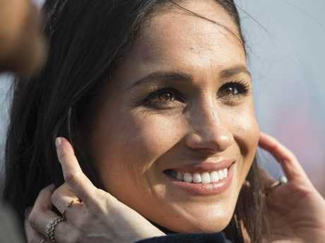 """Henry Bolton's girlfriend Jo Marney said she thought Meghan Markle would """"taint"""" the royal family because she is mixed-race. Picture: AP"""