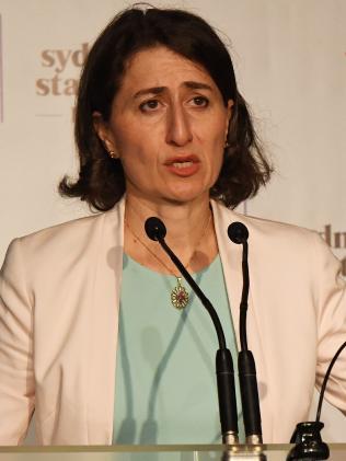 NSW Premier Gladys Berejiklian. Picture: Peter Rae