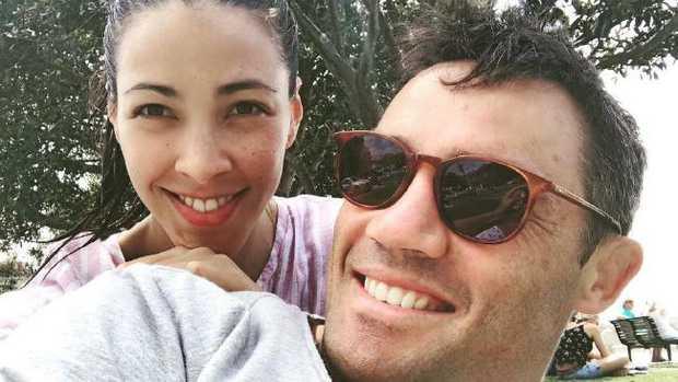 Tara Rushton & husband Cooper Cronk. Picture: Instagram