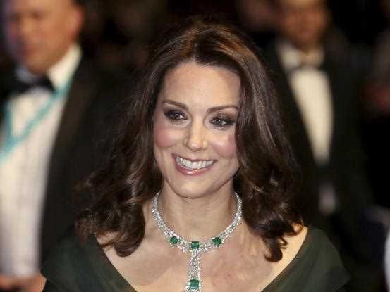 Why Kate Middleton did not wear black at the BAFTAs