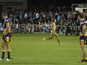 Cheeky fund-raiser for Toowoomba streaker