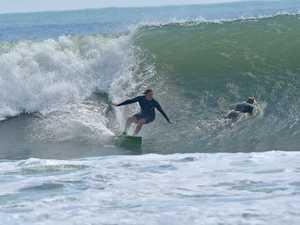 Massive swell pounds Coast