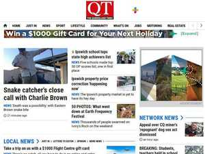 A bright, sharp new look to QT online news
