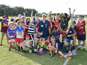 Brisbane Lions Clinic in Hervey Bay