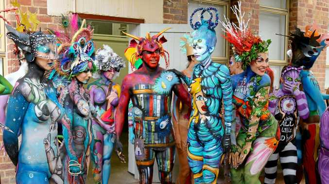 Organisers say the Body Art Festival has huge economic benefits for the region.