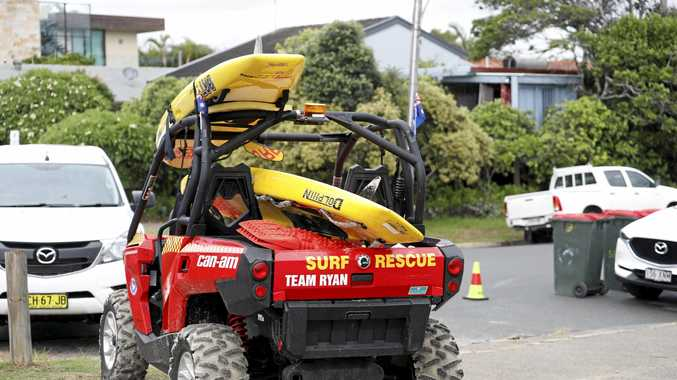 This all-terrain vehicle was funded for Fingal SLSC after its namesake, Ryan Martin, died at Fingal Head.