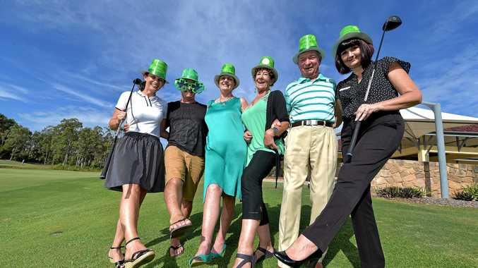 GOLFING GREEN: Caloundra Rotary Club is holding its annual St Patrick's Day Charity Golf Day on March 16 at Pelican Waters Golf Club.