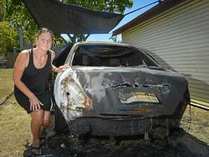 'Scary': Second car torched in South Gladstone street