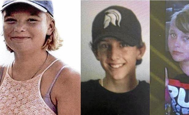 LOOKING FOR TEENS: Georgina Hills, Tyson Giles and Alex Cupitt