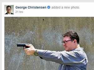 George Christensen's gun post, photo slammed by PM Turnbull