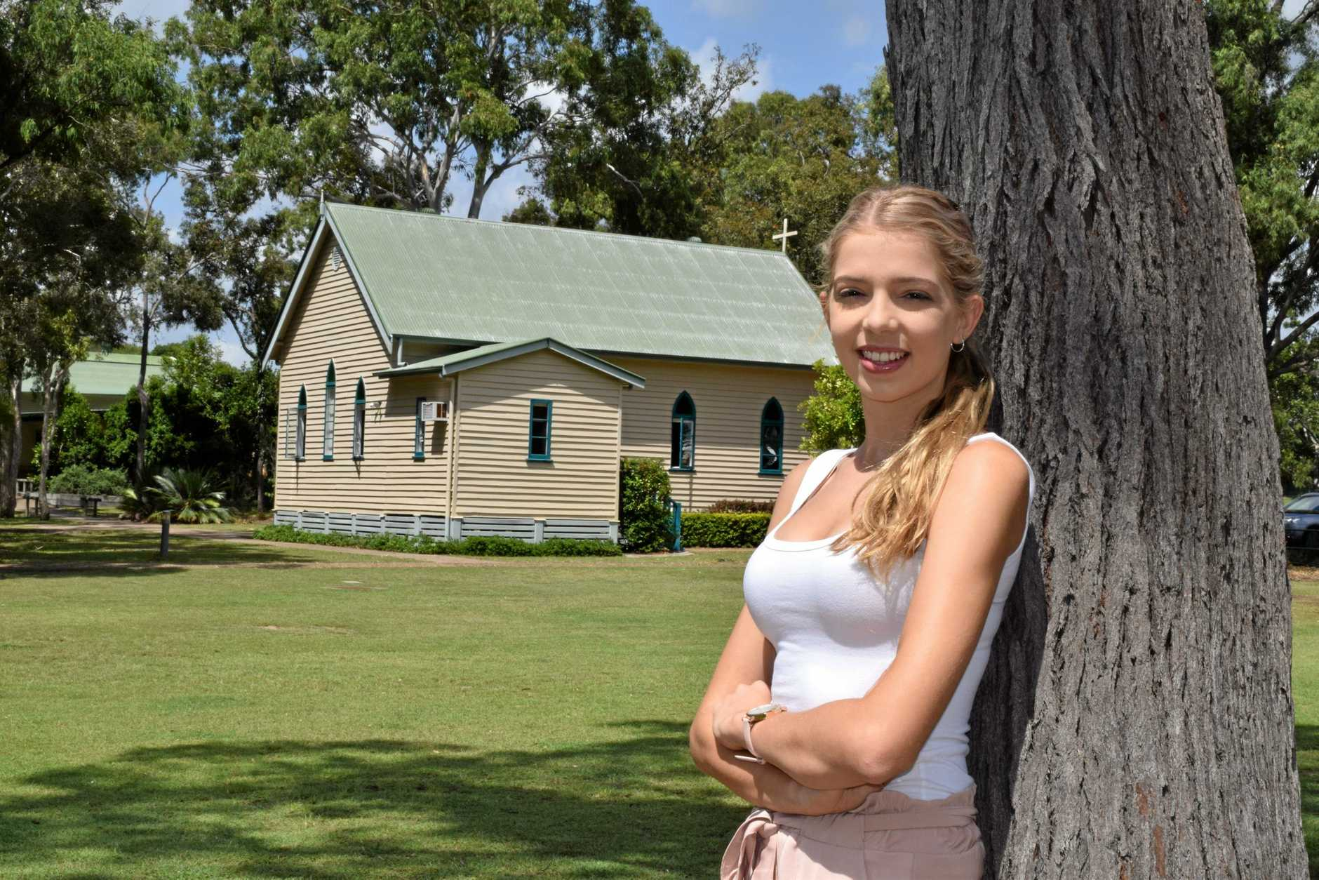 OP2 student Lauren Bosley will begin a Bachelor of Nursing Science at USC Fraser Coast this Thursday as a pathway into medicine or a specialist career in nursing.