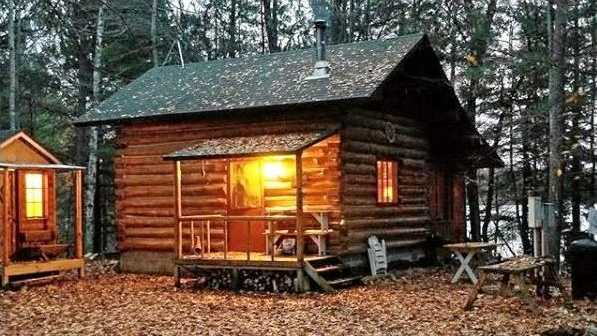 LOG IN: A cabin to lust over.