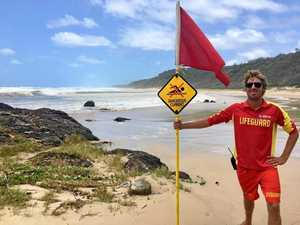Hero lifeguard pulls off miracle rescue