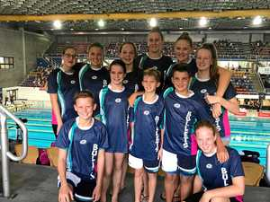 Swimmers do their Gladstone clubs proud