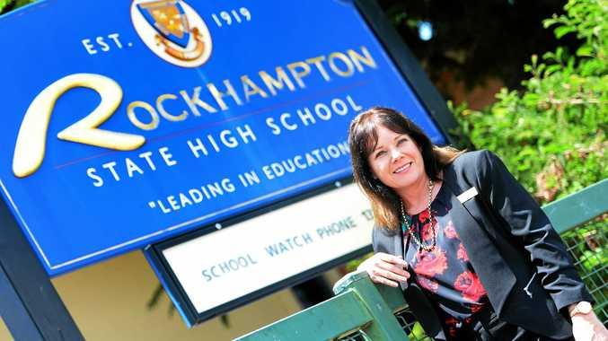Rockhampton State High School principal Kirsten Dwyer.