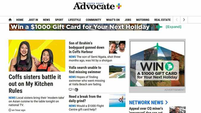 We have updated the presentation of The Coffs Coast Advocate website today to enhance your online reading experience.