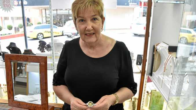 Gladstone jewellers' latest addition really shines