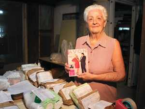 FAREWELL AVON: Mrs Pike started without a single friend in town, but now she prepares to send out final orders to over 200 Warwick clients who are devastated by the news.