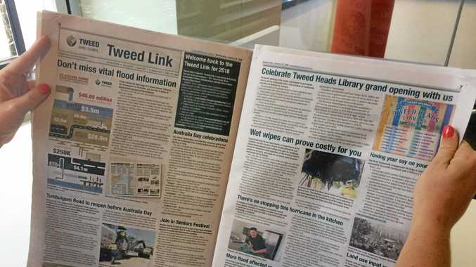 The Tweed Link is now available in the Wednesday community edition of the Tweed Daily News.