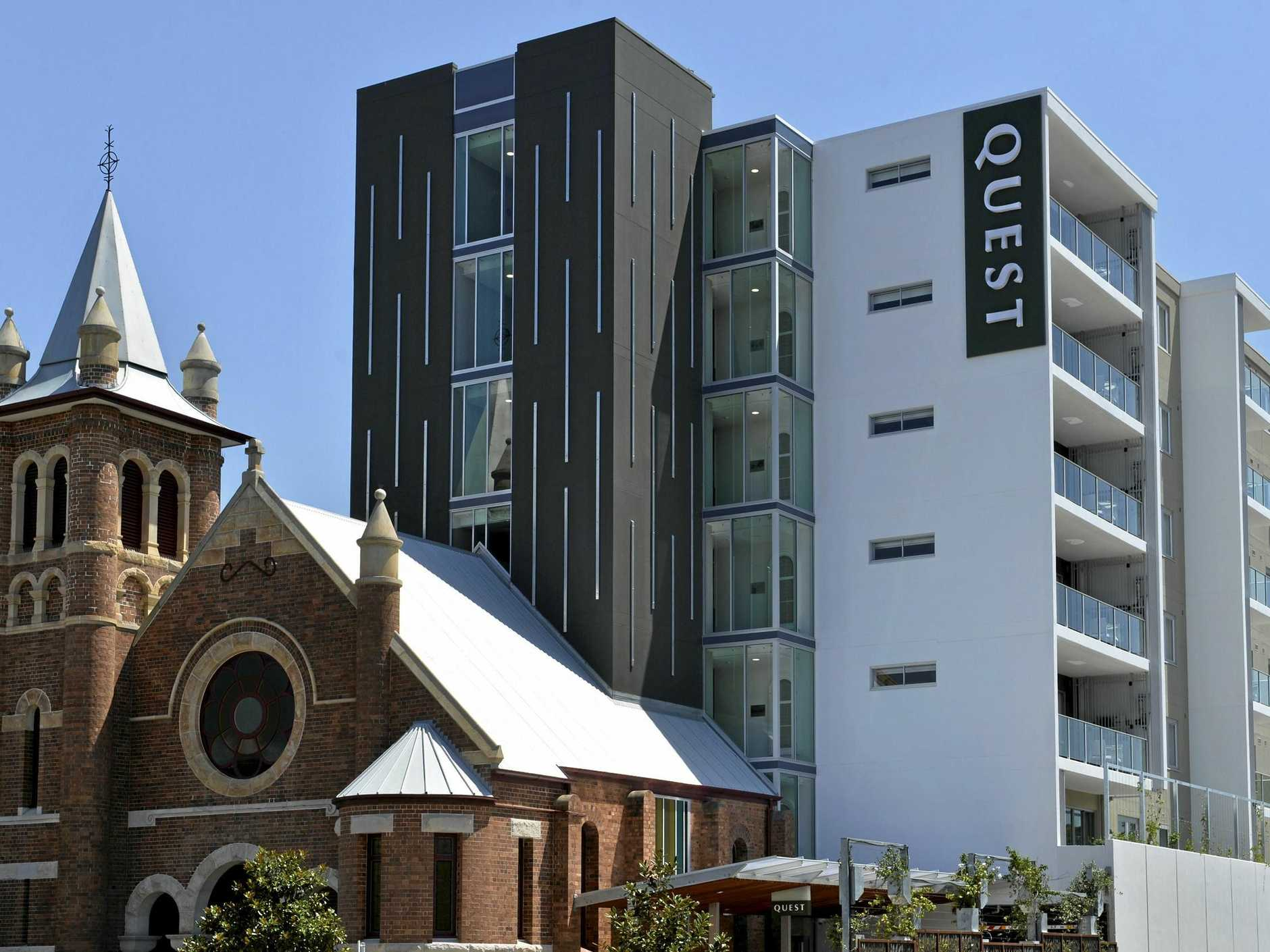 After more than eight months of works, Quest Apartment Hotel has re-opened in Toowoomba.