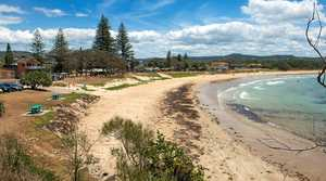 Woolgoolga Main Beach.