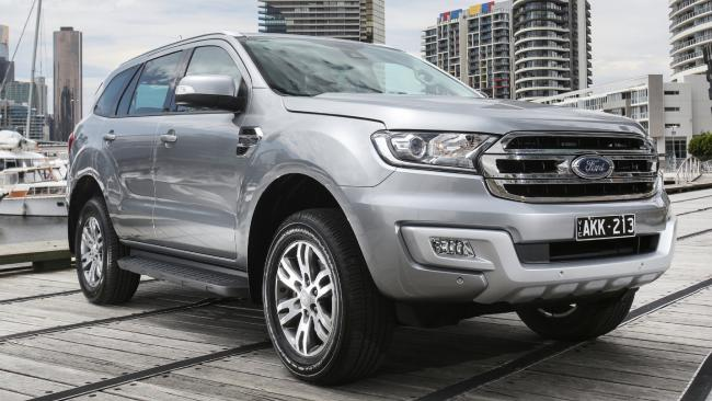 Family car: Ford Everest