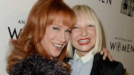 Comedian Kathy Griffin and singer Sia