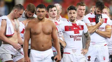 The England squad received widespread praise for the World Cup display where they went down 6-0 to the Kangaroos in the final. Photo: Mark Metcalfe