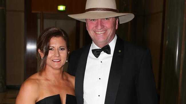 Despite being hurt, Joyce's wife Natalie doesn't want him to lose his job. Picture: Ray Strange