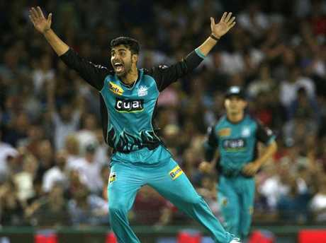 Brisbane has a battle on its hands to keep hold of Shadab Khan.