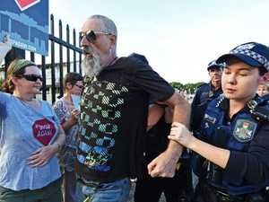 Man charged with assaulting anti-Adani protestors