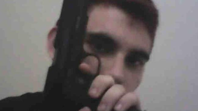 Nikolas Cruz has been charged with the murder of 17 people. Picture: Twitter