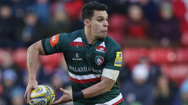 Matt Toomua showed Australia what they're missing out on, starring for Leicester in the English Premiership.