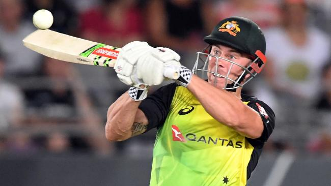Chris Lynn is looking to get among the runs at Eden Park on Wednesday.