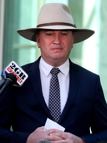 Joyce is refusing to quit over the personal matter. He has been forced on a week's holiday. Picture: Kym Smith