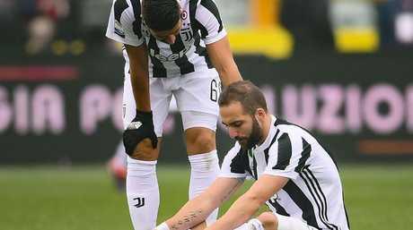Juventus' Argentinian forward Gonzalo Higuain.