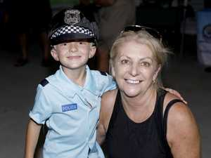 William Renwick, 5, from Banora Point with his nan