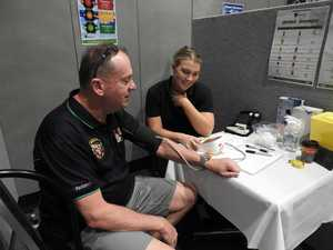 New Acland workers discuss health at Highfields expo