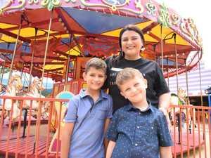 FAMILY FUN: Local mum and blogger Paula Geinitz with