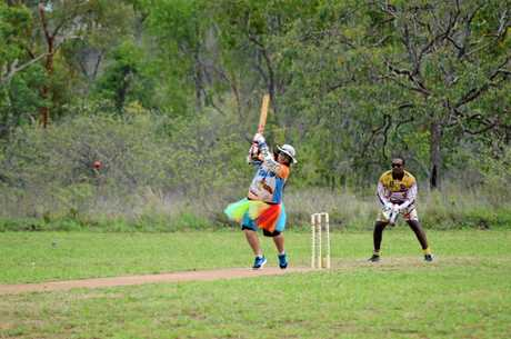 Action at the Goldfield Ashes over the Australia Day long weekend.