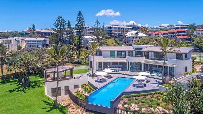 STUNNING: This spectacular beachfront home at 21-23 Webb Road, Sunshine Beach, has just been listed for a Coast record $22 million.