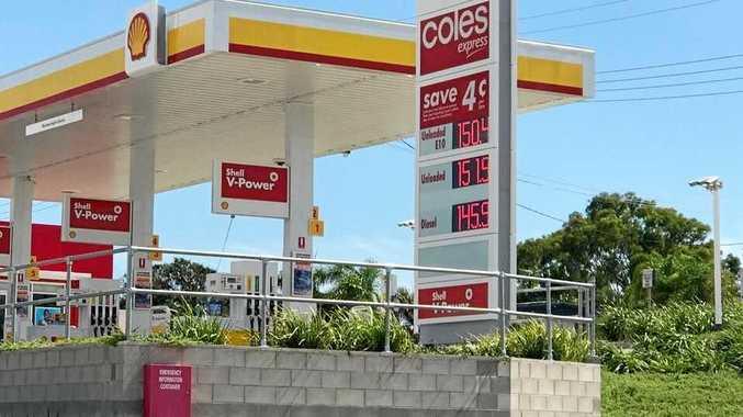 Servo's fuel price shocks Tannum Sands community