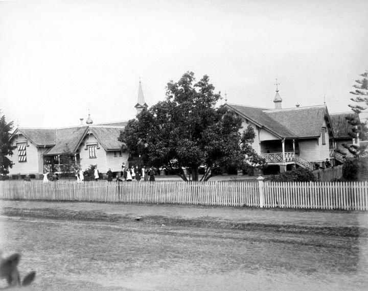 Albert State School in 1890.