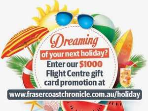 How you can win $1000 Flight Centre voucher