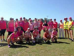 Iluka cricketers out in force for Pink Stumps Day