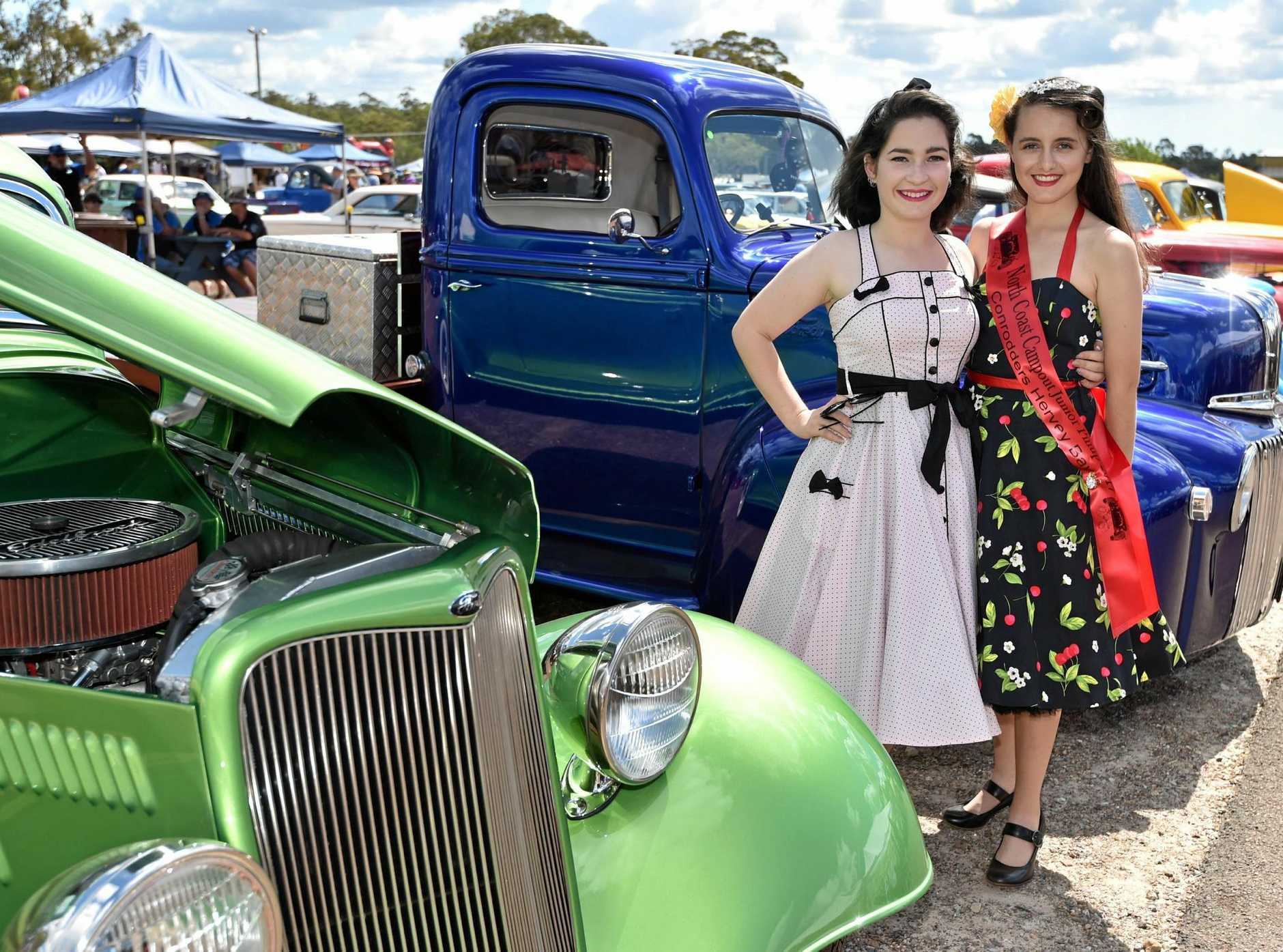 SHOW AND SHINE: The Hot Rod and Custom Car Show is held on Easter Sunday at the Maryborough showground.