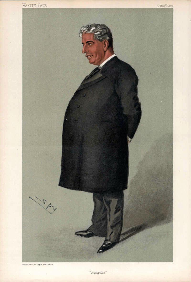 The nicknames for Australian PMs got off to an unflattering start with Toby Tosspot for Edmund Barton.