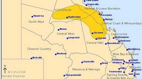 BOM storm warning updated at 8.20pm for February 20.