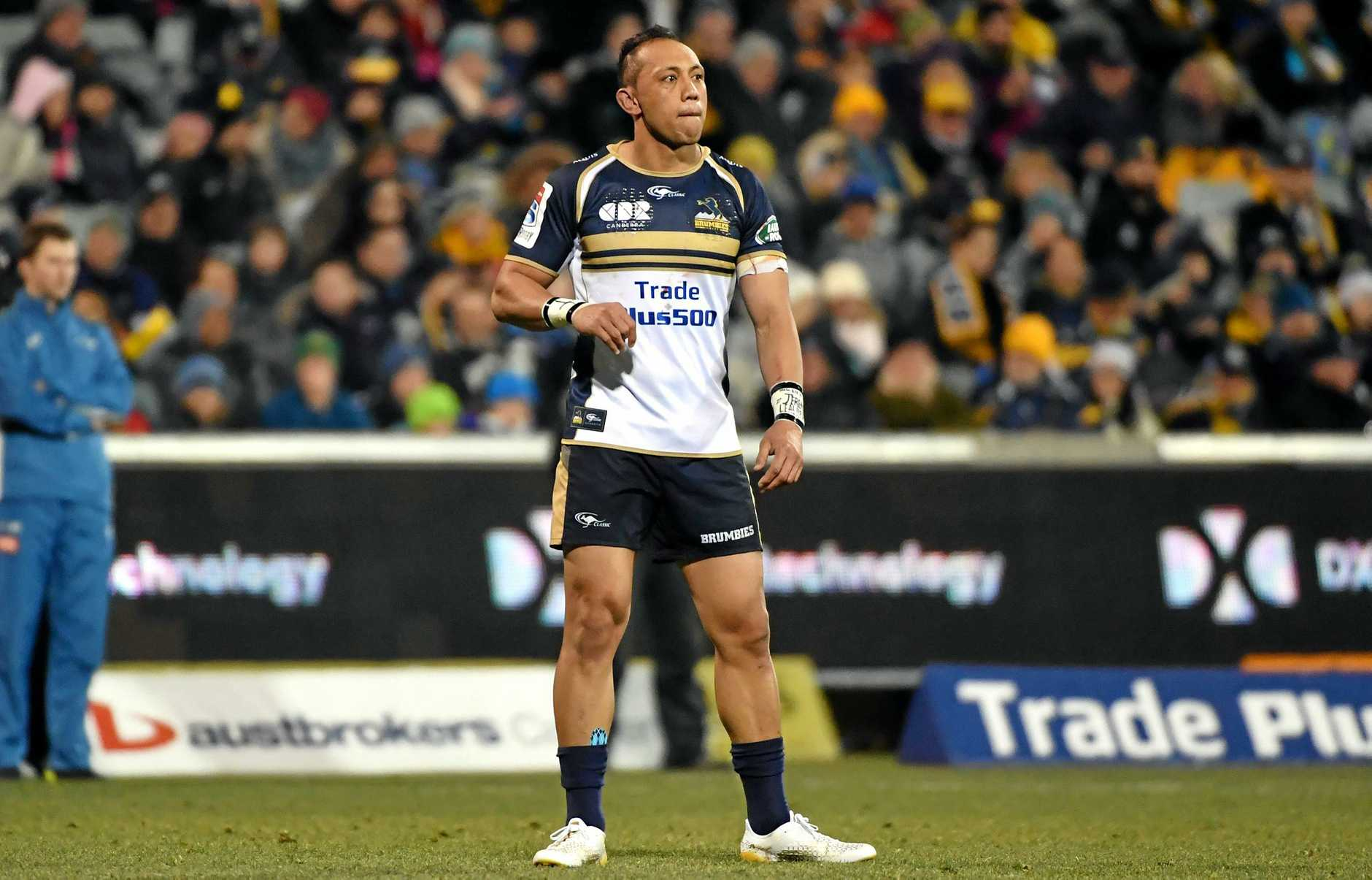 Christian Lealiifano will ine up for the Brumbies.